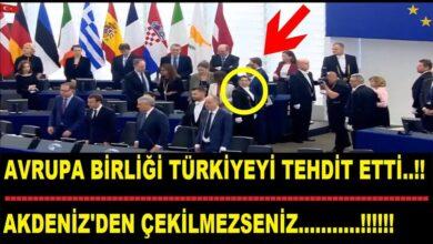 Photo of Avrupa Birliği Türkiye'yi tehdit etmiş…
